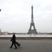 Coronavirus : le Trocadéro à Paris, avant et après le confinement