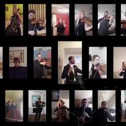 L'orchestre national serbe interprète Bella Ciao en hommage à l'Italie et au reste du monde