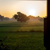 Mandalay-Rangoun, une journée à bord d'un train birman