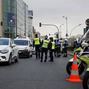 Coronavirus : sur le périphérique parisien, des contrôles de police à l'entrée de «l'autoroute du soleil»