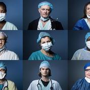 Coronavirus : les portraits de soignants au front à l'hôpital Georges-Pompidou à Paris
