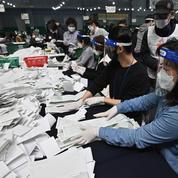 Élections en Corée du Sud: le pouvoir récompensé pour sa gestion de l'épidémie