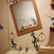 Banksy fait du street-art chez lui et sa femme «déteste» ça