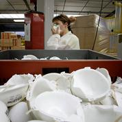 Coronavirus : l'Assemblée vote une baisse de TVA pour les masques et le gel hydroalcoolique