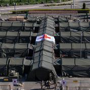 Coronavirus : à Mulhouse, le démontage de l'hôpital militaire de campagne engagé