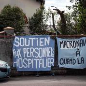 Toulouse : une jeune femme en garde à vue pour une banderole «Macronavirus»