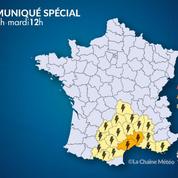 Le Gard et l'Hérault en alerte orange pour inondations