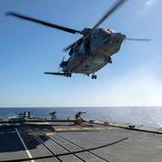 Hélicoptère de l'Otan disparu: des débris retrouvés en mer