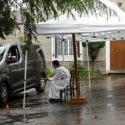 Confinement : à Limoges, une paroisse ouvre un «drive confession»