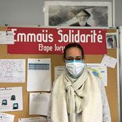 Lauryne, employée d'Emmaüs Solidarité : «Je suis très fière d'être là»
