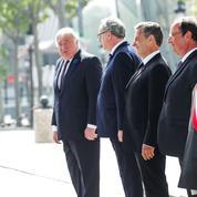8-Mai : Macron avec Sarkozy et Hollande à l'Arc de triomphe pour une cérémonie inédite