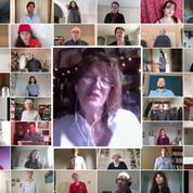 Jane Birkin reprend La Javanaise avec 640 inconnus