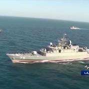 Un navire de guerre iranien «frappé par un missile» accidentellement lors d'un exercice dans le golfe d'Oman