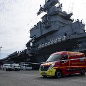 Charles de Gaulle: l'«excès de confiance» des marins face au virus