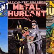 Le retour fou du magazine de BD Métal Hurlant en 2021