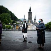 Le sanctuaire de Lourdes a rouvert partiellement ses portes