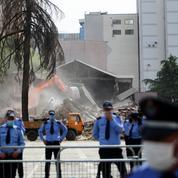 Gronde populaire après la destruction du Théâtre national albanais