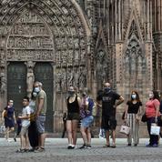 La justice suspend l'obligation de porter un masque dans l'hypercentre de Strasbourg