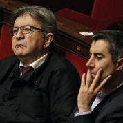 Mélenchon écarte une candidature de Ruffin en 2022 : «Pour l'instant, le drapeau est fermement tenu»