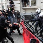 Incidents au terme d'une manifestation contre le racisme à Bruxelles