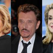 L'amour caché entre Johnny Hallyday et Catherine Deneuve est une fiction pour Sylvie Vartan