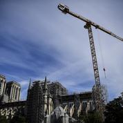 Notre-Dame de Paris: les opérations de démontage de l'échafaudage ont débuté ce matin