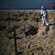 Le Brésil, deuxième pays le plus endeuillé par le coronavirus