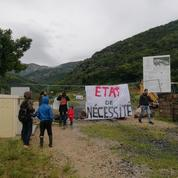 En Ardèche, une ZAD contre un projet d'église délogée par les gendarmes