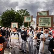 Renault : des centaines de salariés ont manifesté à Flins contre «la casse sociale»