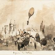 Départ du ballon, un dessin inédit de Victor Hugo, s'envole à 37.500 euros