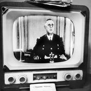 L'oeil de l'INA : le général de Gaulle, la télé et sa méthode du discours