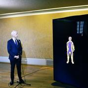 Franck Riester séduit par l'avatar de Jean-Michel Jarre