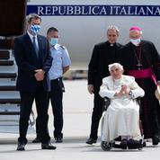L'ancien pape Benoît XVI de retour au Vatican