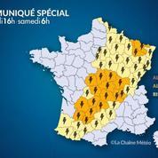 Météo : plusieurs départements en alerte orange pour des orages