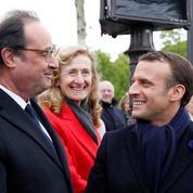 Entre Hollande et Macron, un déjeuner «courtois» consacré à «l'urgence économique et sociale»