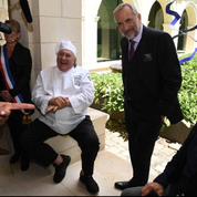 Gérard Depardieu sous la toque d'un grand chef dans un nouveau tournage