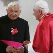 Georg Ratzinger, frère du pape émérite Benoît XVI, est mort