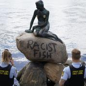 La Petite Sirène raciste ? La statue de Copenhague vandalisée à son tour