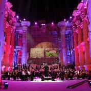 «Notre cri est un cri culturel» : au Liban, un concert sans public au milieu des ruines de Baalbek