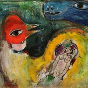 Une étude à l'huile de Marc Chagall vendue 220.000 euros aux enchères