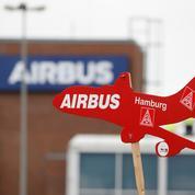 Airbus: les livraisons d'avions divisées par deux au premier semestre