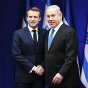 Macron demande à Israël de renoncer à tout projet d'annexion de territoires palestiniens