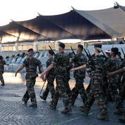 Sur les Champs-Elysées, la répétition générale avant le défilé du 14 juillet
