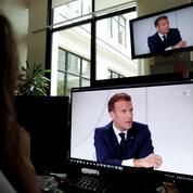 Macron appelle à «une modération des dividendes» en cas d'effort demandé aux salariés