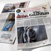 Presse : le Guardian va supprimer jusqu'à 180 postes
