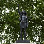 La statue d'une manifestante Black Lives Matter à Bristol retirée