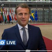 Sommet UE : «un moment de vérité» pour l'Europe, déclare Macron