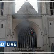 Incendie dans la cathédrale de Nantes : le gardé à vue remis en liberté «sans aucune poursuite»