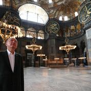 Les mosaïques chrétiennes de Sainte-Sophie seront masquées pendant la prière musulmane