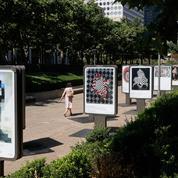 En Lituanie, les artistes s'affichent sur des panneaux publicitaires pour vendre leurs œuvres